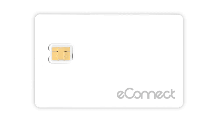 Japan Prepaid SIM card by eConnect