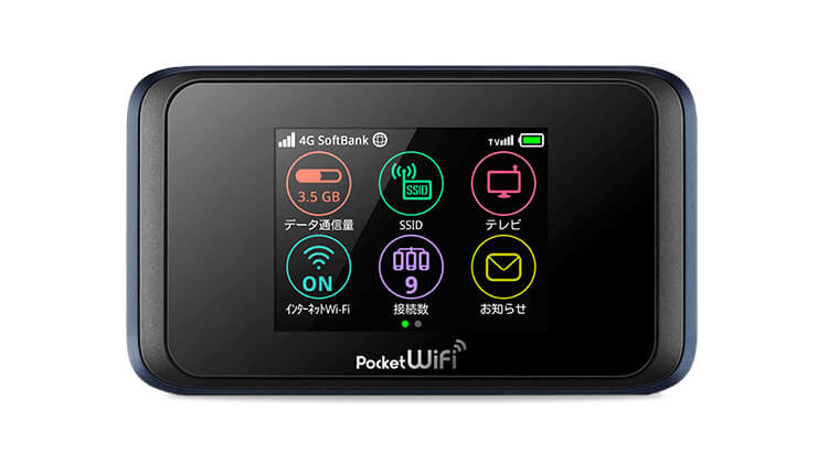 Pocket WiFi 50GB